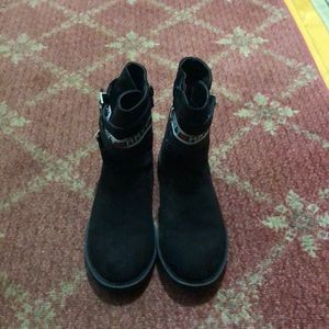 Tommy hilfiger fashion black boots